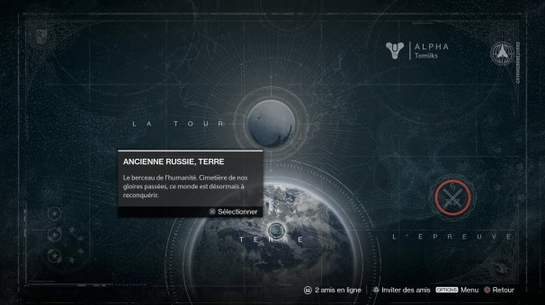 Destiny - Map