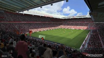 PES 2015 Old Trafford