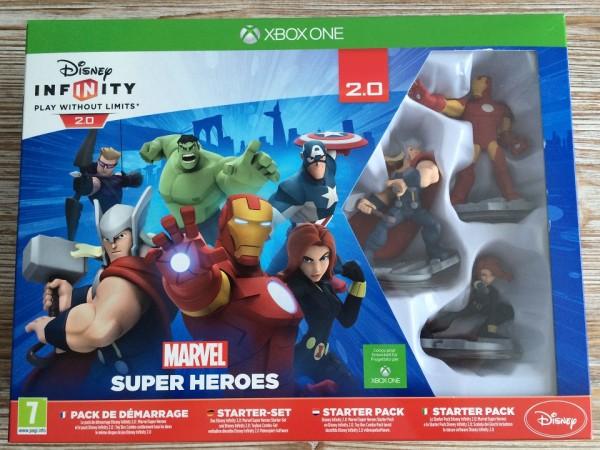 Disney Infinity 2.0 Marvel Super Heroes - pack de démarrage