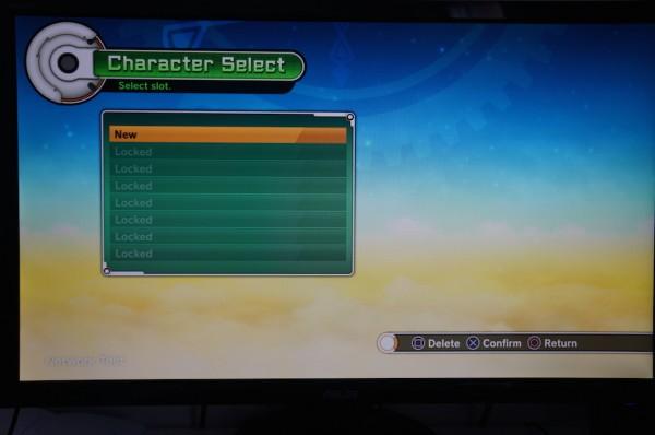 Zone de départ Dragon Ball Xenoverse Création