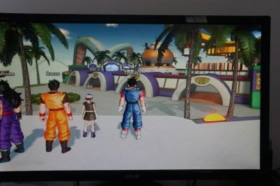 Dragon Ball Xenoverse zone de départ
