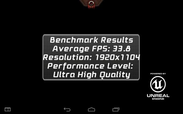 Lenovo Yoga Tablet 2 Benchmark