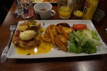 Charly Bun's Oeuf bénédicte bacon