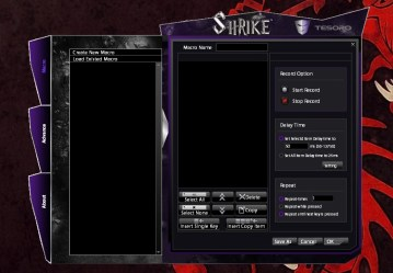 Tesoro Shrike Black Edition config 2