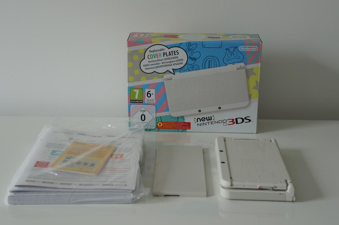 Nintendo New 3DS contenu