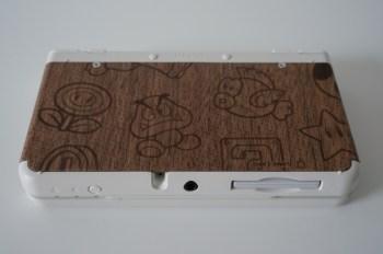 New 3DS Cover Plate bois arrière