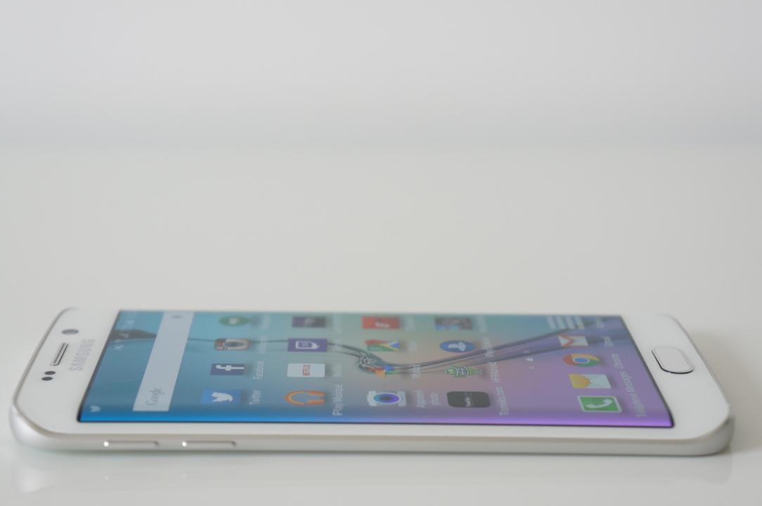 Galaxy S6 Edge bords fins