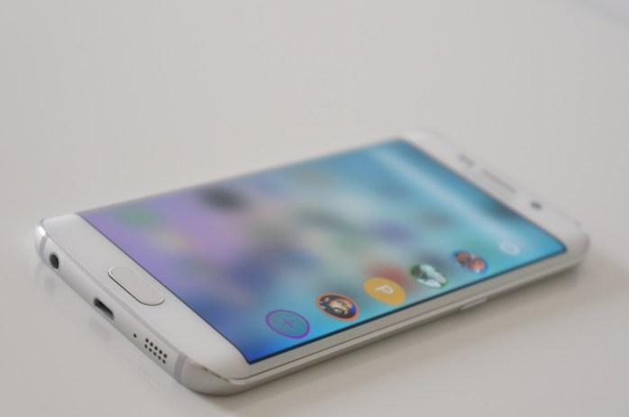 Galaxy S6 Edge contact favoris