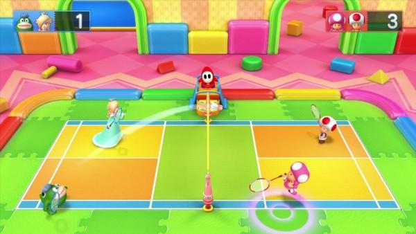 Mario tenn... badminton