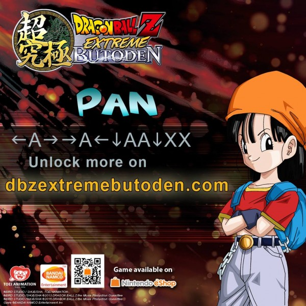 DBZ Extreme Butoden - Z-assist Pan