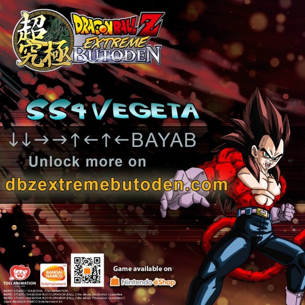 DBZ Extreme Butoden - Z-assist SS4 Vegeta
