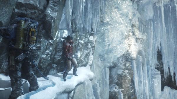 J'ai rarement vu de la glace aussi bien rendu dans un jeu vidéo