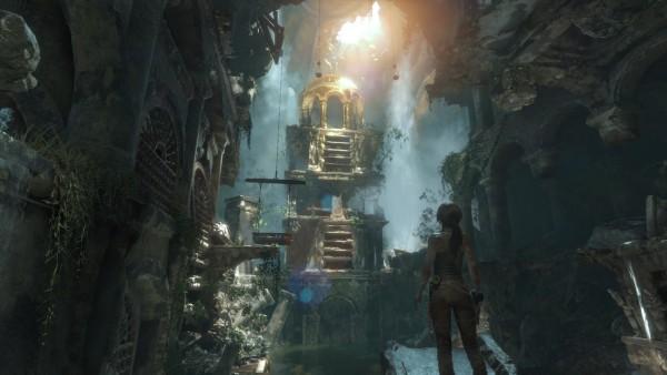 Mon Kif dans Tomb Raider, trouver des trésors après avoir résolu l'énigme d'un tombeau