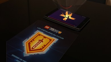 Photo of Hologramme : Lego Nexo Knights se met à l'holographie