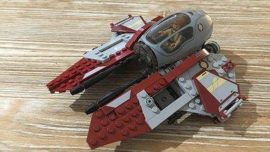Photo of Stop Motion Lego Star Wars Obiwan's Interceptor