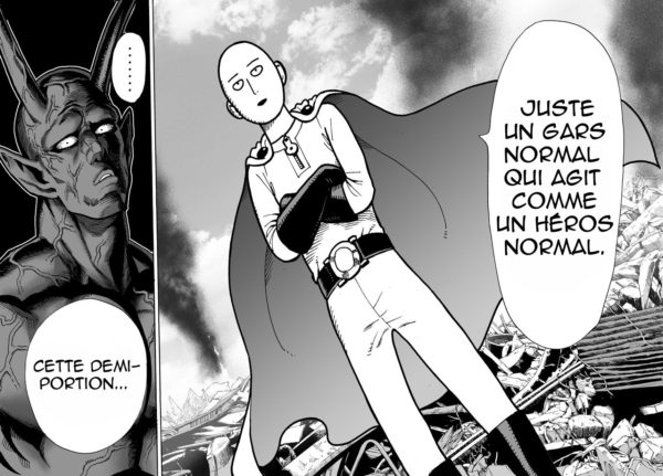 One punch man planche FR