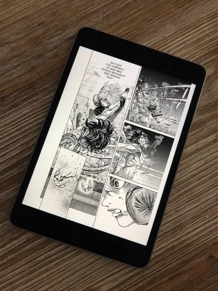 Izneo iPad Screenshot