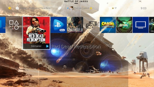Bêta PlayStation Now sur PS4