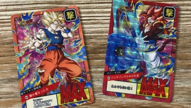 Photo of [MyCollection] Carddass Fancards Super Battle Dokkan Battle !