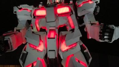 Photo of Rencontre avec le Gundam RX-0 Unicorn à Odaiba