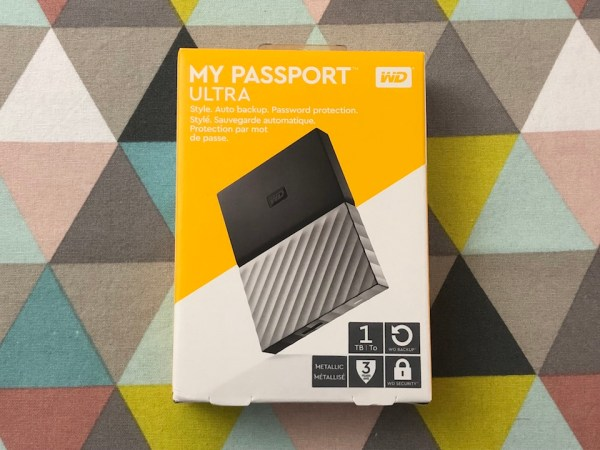 Disque externe WD My Passport Ultra 1 To