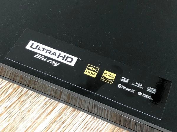 Sony X800 Blu-ray 4K HDR