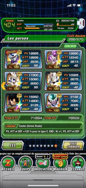 Vegeto LR Team Extreme
