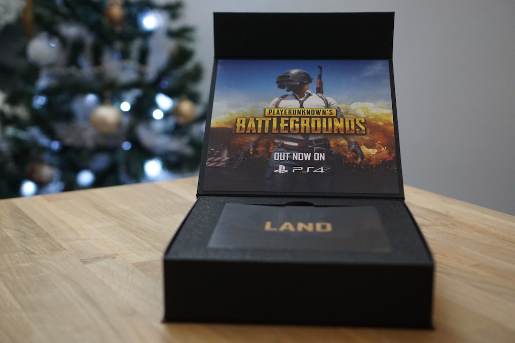 Press Kit PUBG PS4
