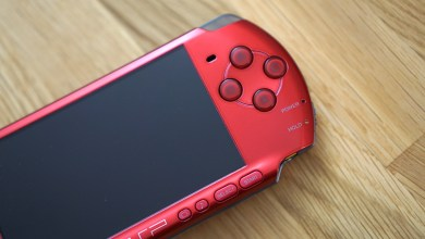 PSP Slim & Lite Radiant RED