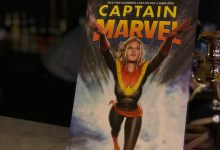 Central Park Captain Marvel