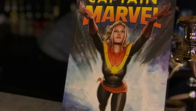 Central Park Captain Marvel