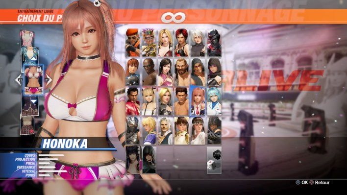 DEAD OR ALIVE 6 Sexy Costume