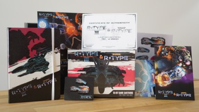 Photo of Unboxing R-Type III & Super R-Type Collector's Edition sur SNES