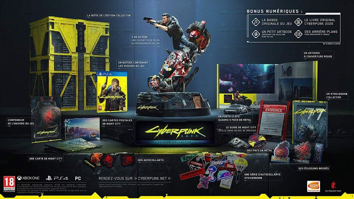 Cyberpunk Collector 2077 Collector