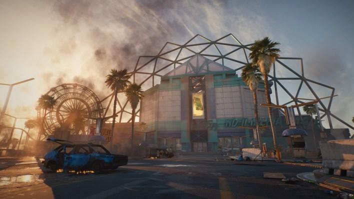 Pacifica, la cité abandonnée de cyberpunk 2077