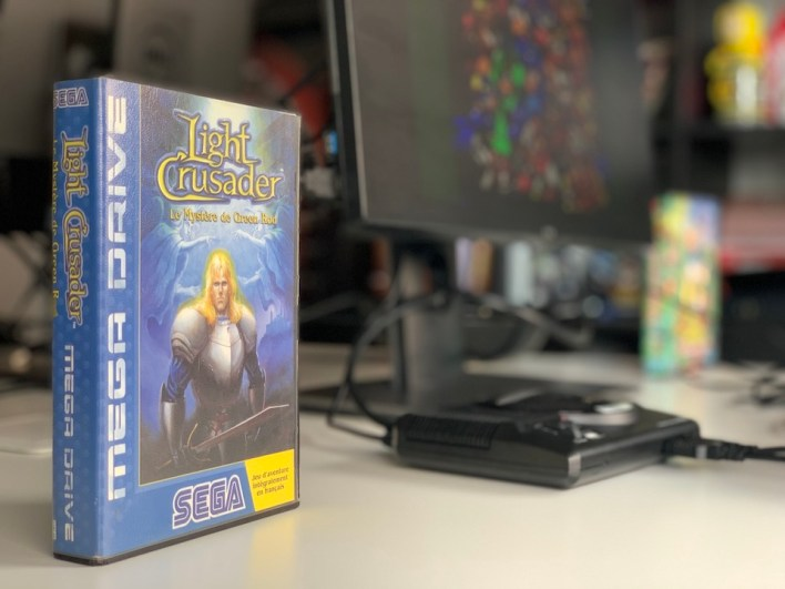Light Crusader Mega Drive