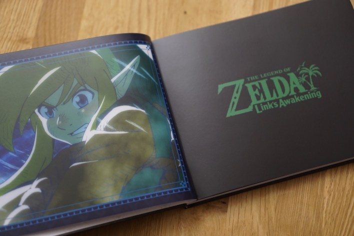Artbook Zelda Link's Awakening Limited edition