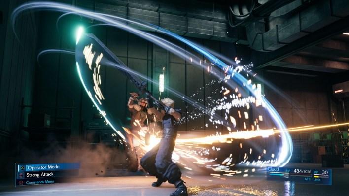 Final Fantasy VII Remake VFX