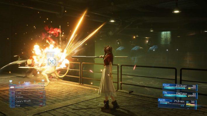 Aerith Magic Power
