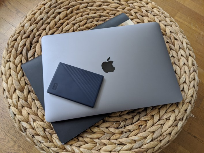 macbook & my passport for mac