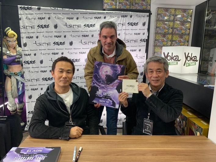 Shinji Hashimoto & Toshiyuki Itahana