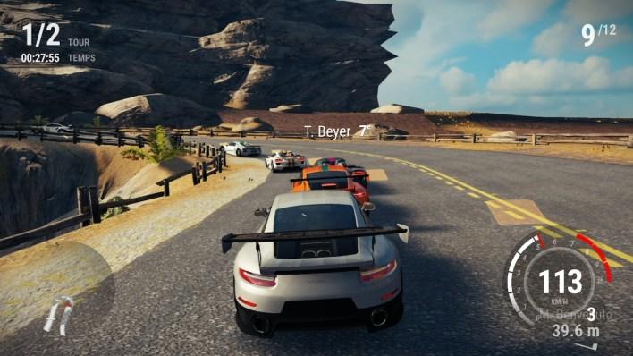 Balade en Porsche