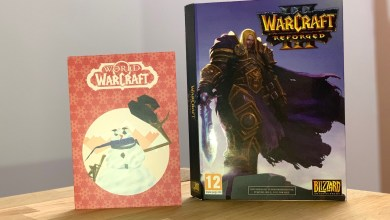 Photo de Unboxing – Press kit Warcraft 3 Reforged PC