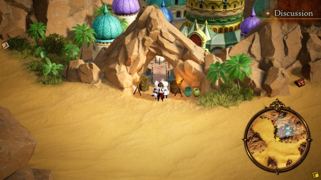 Bravely Default 2 oasis