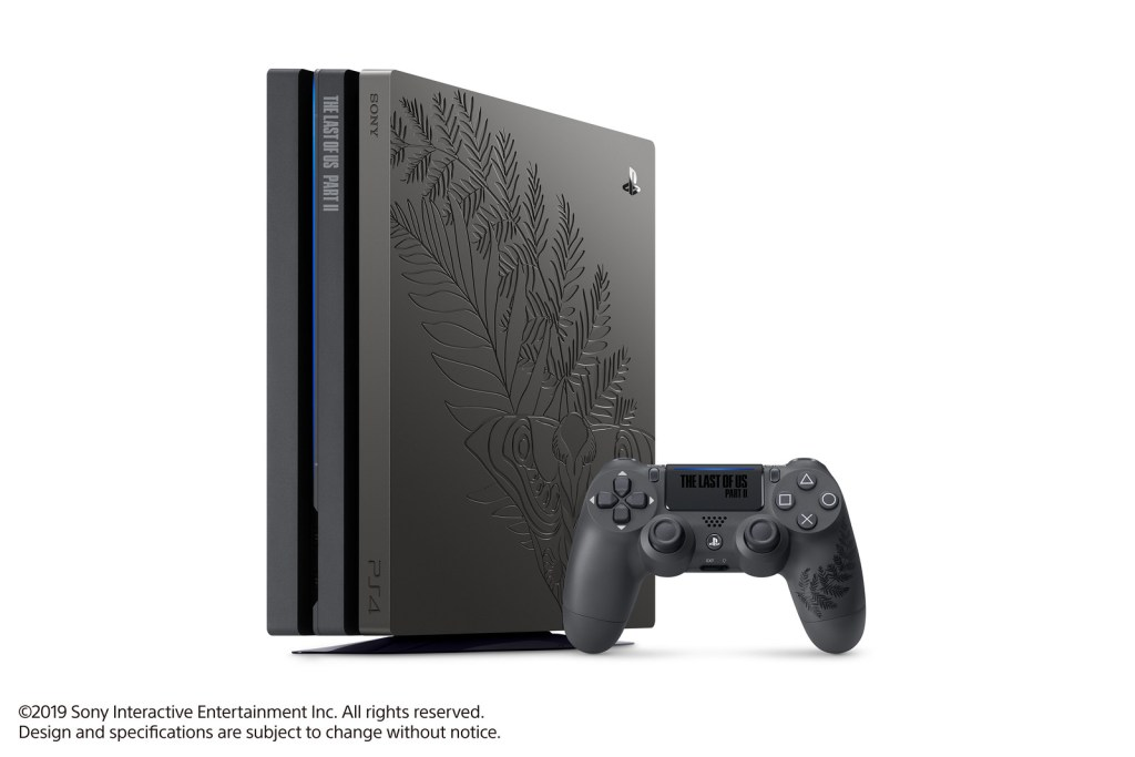 PS4 Pro Collector The Last of US Part II