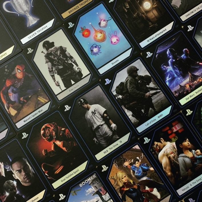 Playstation Experience Complete Digital Collectible Card