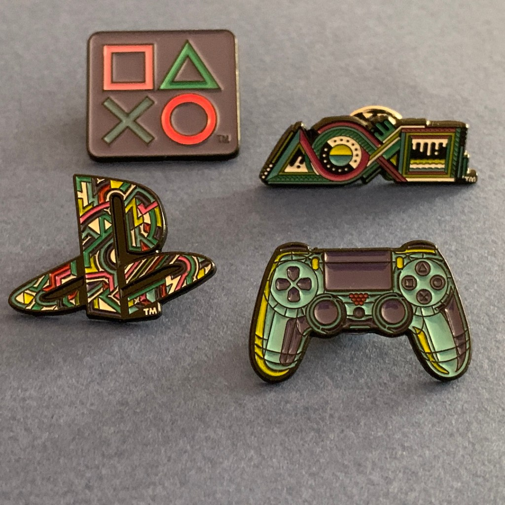 4 pins PlayStation
