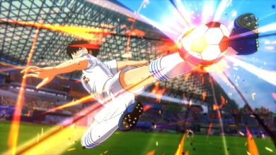 Photo de Test Captain Tsubasa sur PS4