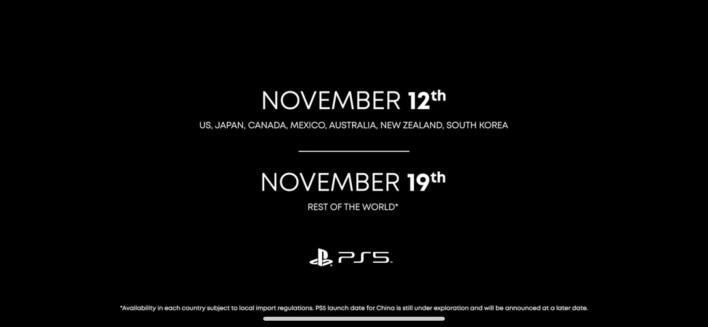 Date de sortie PS5