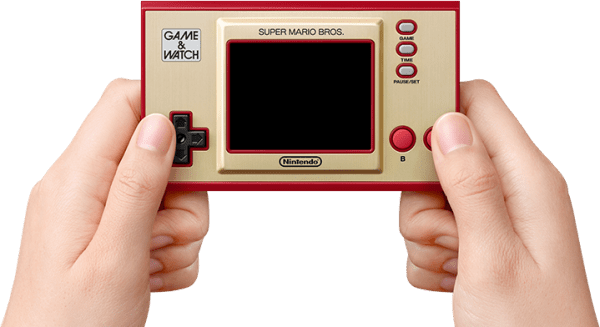 Retrogaming Game & Watch: Super Mario Bros